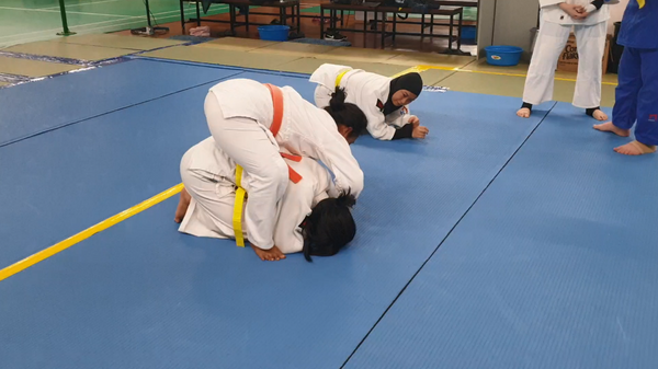 How to master a technique (newaza)